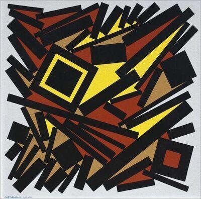José Pedro Costigliolo, 'Cuadrados y Rectángulos', 1978