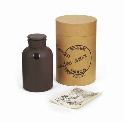 Joseph Beuys, 'Poison (Mirror piece) (+ How to explain the iodine bottle to the hares, print; 2 works) ', 1975