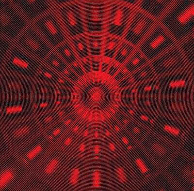 John Zoller, 'John Zoller, Space Time Accelerator Red Black', 2018