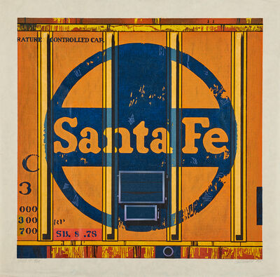 Robert Cottingham, 'Santa Fe', 1988