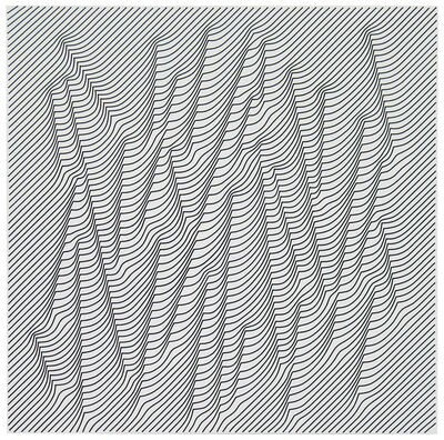 Julian Stanczak, 'Light in the Woods - White', 2009