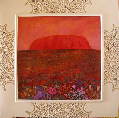 Bob Marchant, 'Uluru at sunset', 1990