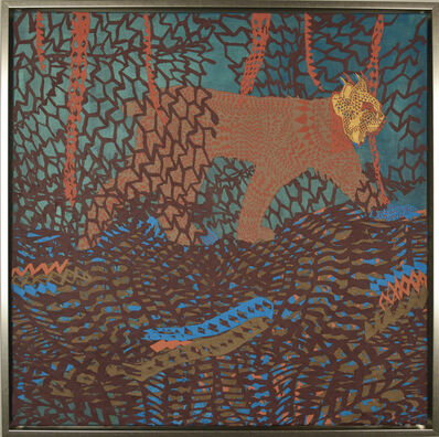Sonja Peterson, 'Labyrinth Lynx', 2019