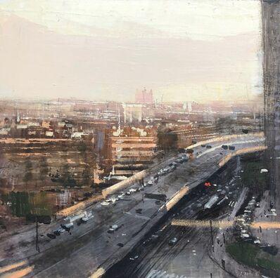 ALEJANDRO QUINCOCES, 'Autopista en Hang Zhou en sol ', 2018