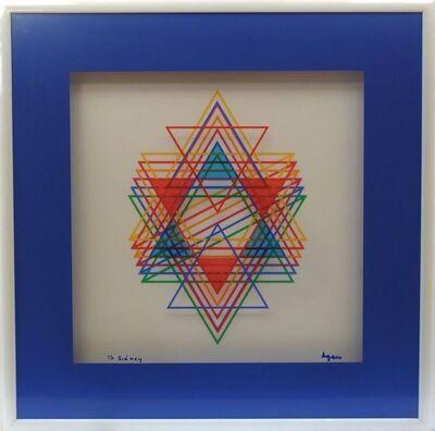Yaacov Agam, 'Variations on the Star', ca. 1975