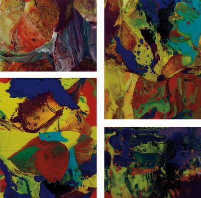 Gerhard Richter, 'Ifrit (P8); Bagdad (P9); Bagdad (P10); and Aladin (P11)', 2010/2014