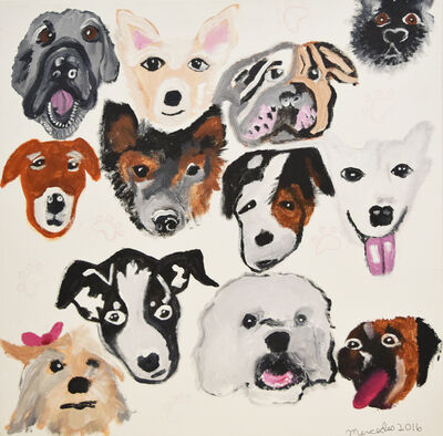 Mercedes Kelly, 'Moody Dogs II', 2016