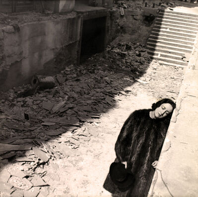 Cecil Beaton, 'Vicomtesse De Noailles At The Ruins Of The Paris Exposition', 1938