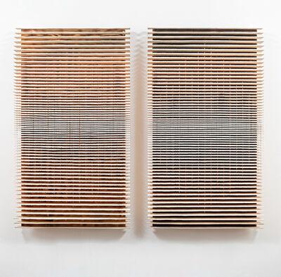 Flavio Senoner, 'Line reliefs 123 - 124', 2018
