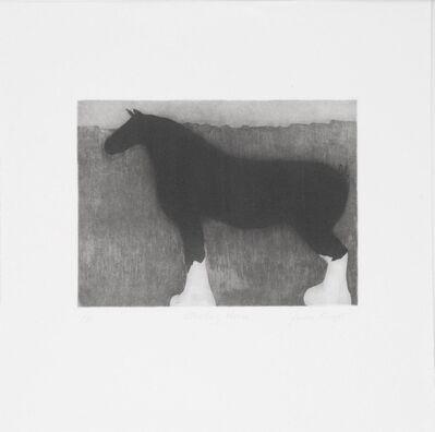Gwendolyn Knight, 'Standing Horse', 1999