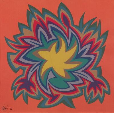Corrado Cagli, 'Curve iperboliche a un centro', 1974