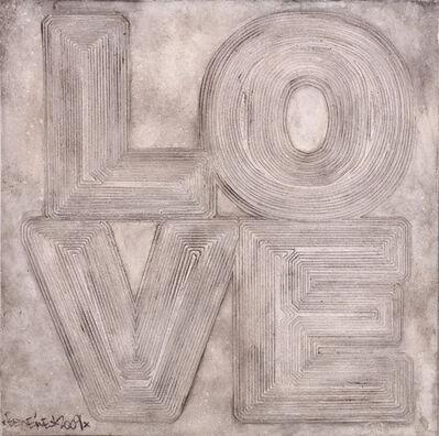 Ben Eine, 'Love', 2009