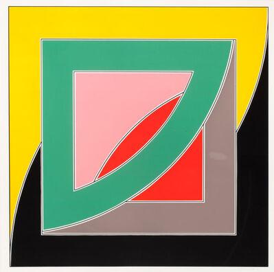 Frank Stella, 'Referemdum '70', 1970