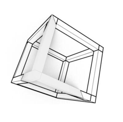 Pablo Tamayo, 'Cubo pared', 2018