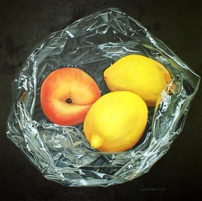 Ingeborg Haeberle, 'Peach and lemon', 2016