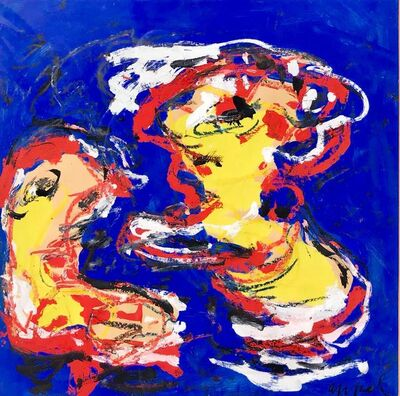 Karel Appel, 'N.A.', 1958
