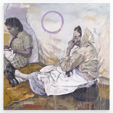 Hung Liu, 'Stitchers', 2015