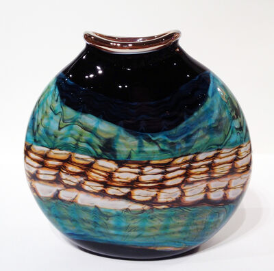 Gartner Blade, 'Black Turquoise Sagasso Vase ', 2016