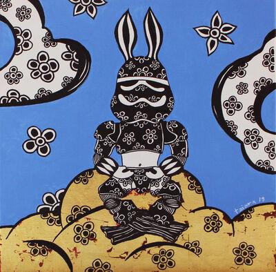 Angelo Tziara, 'Space Rabbit', 2019
