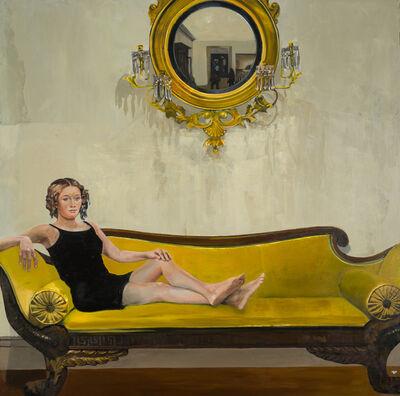 Patrick Pietropoli, 'Canapé jaune', 2020