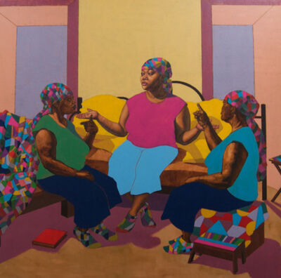 Ja'Rie Gray, 'A Conversation with the Three of Me', 2015