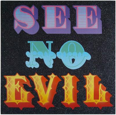 Ben Eine, 'See No Evil', 2014
