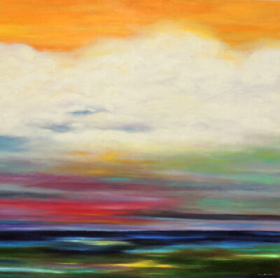 Mary Johnston, 'Orange Over the Clouds', 2018