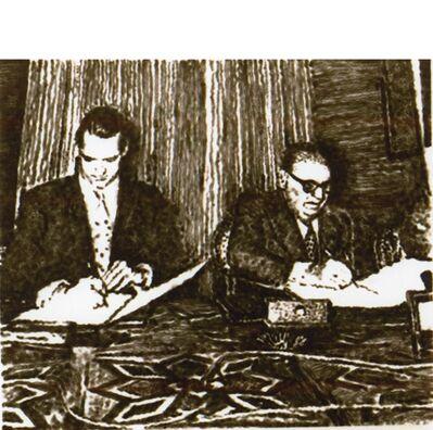 """Jiří Georg Dokoupil, '""""FUSION INCONCLUSA""""', 1989"""