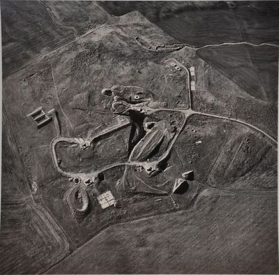 Emmet Gowin, 'Abandoned Titan Missile Silo, Mountain Home, Idaho', 1987