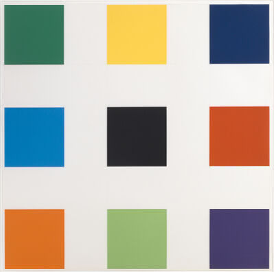 Ellsworth Kelly, 'Nine Squares', 1977