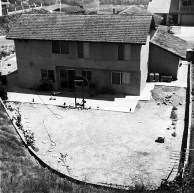 Joe Deal, 'Backyard, Diamond Bar, California', 1980