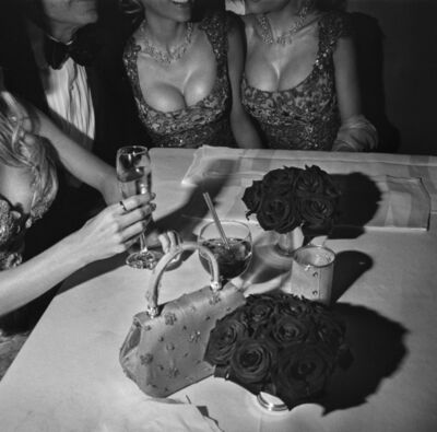 Larry Fink, 'Hugh Hefner and Playmates, Oscar Party, Los Angeles, California ', 2000