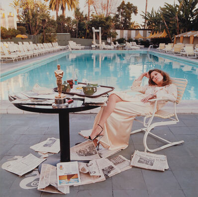 Terry O'Neill, 'Faye Dunaway, Beverly Hills', 1977-printed later