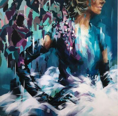 Murielle Vanhove, 'Elles - Turquoise', 2018