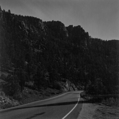 Robert Adams (b.1937), 'Larimer County, Colorado, 1 AM, moonlight', 1981