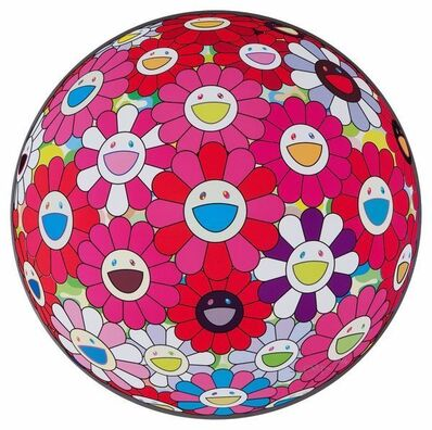 Takashi Murakami, 'FLOWER BALL TURN RED! (3D)', 2010