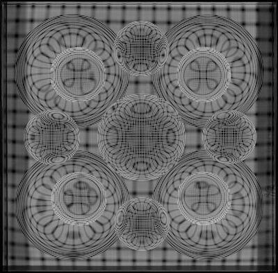 Hector Ramirez, 'Esfera Tension de Orbitas en Gravitacion', 2015