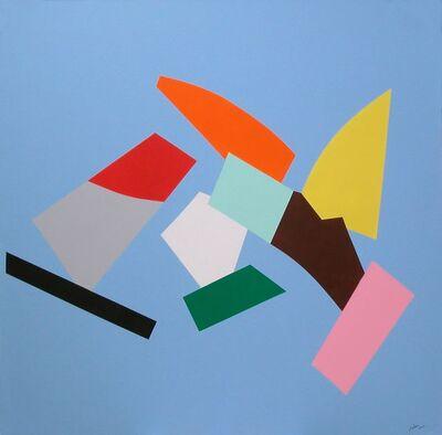 Marcel Barbeau, 'Pure comme une nuit découpée', 2004