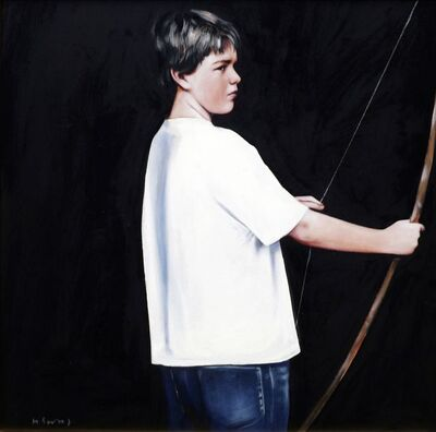 Gerard Burns, 'Boy with Arrow'
