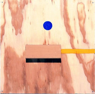 """Richard Tuttle, '""""Two With Any To, #6""""', 1999"""