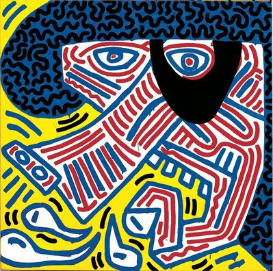 Keith Haring, 'Sneeze (via Picasso)', 1994