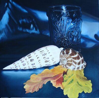 Keanu Dahinden, 'Stillleben mit Glas', 2015