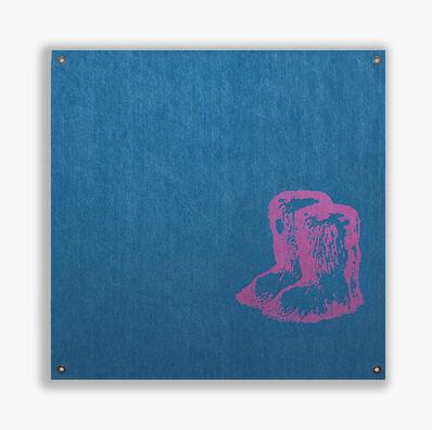 Sylvie Fleury, 'Chanel Yeti Boots (Pink Edition)', 2019
