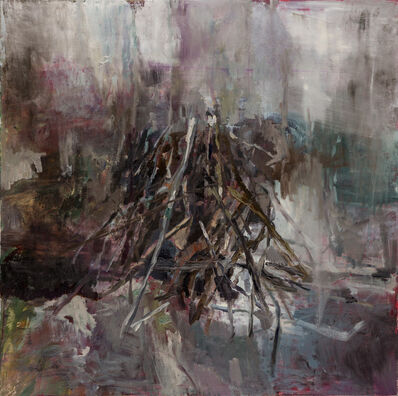 Edwige Fouvry, 'Tas de bois', 2020