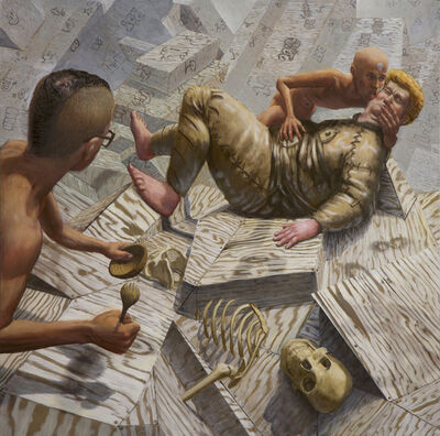 John Jacobsmeyer, 'Soup and Strife', 2016