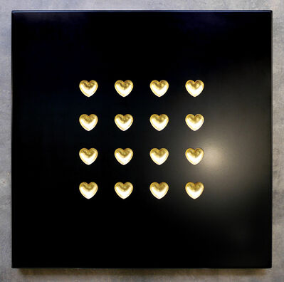Ryan Callanan (RYCA), '16 Gold Hearts (UNIQUE)', 2020