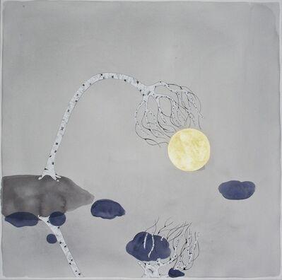 "Crystal Liu, 'the moon , ""reach""', 2015"