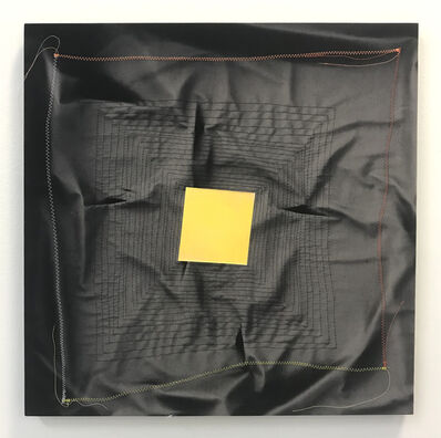 Chris Duncan, 'Ghost Pattern (Yellow on Black)', 2019