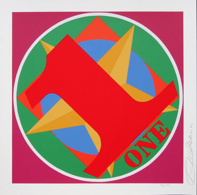 Robert Indiana, 'One Indiana Square', 1998