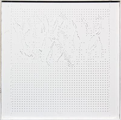 Ugo La Pietra, 'Strutturazioni tissurali. Deformazione di campi tissurati 1', 1966
